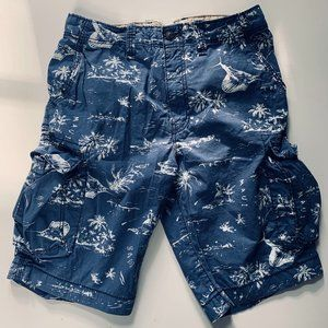 H&M tropical cargo shorts size EUR 12-13yrs-old